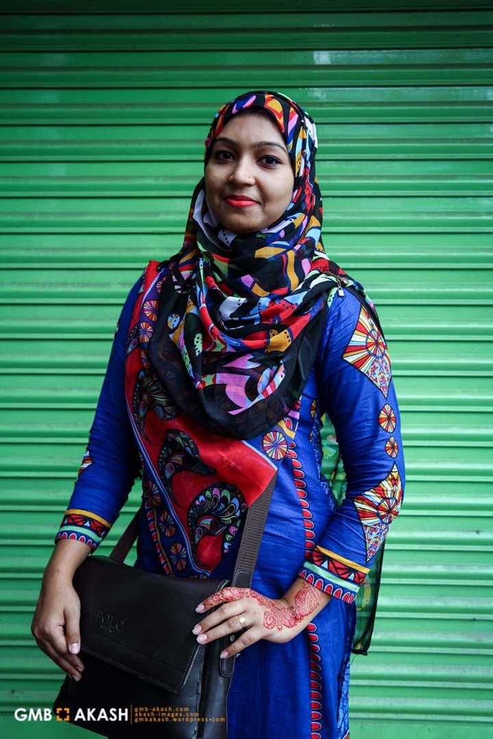 Sniya Sultana , a student